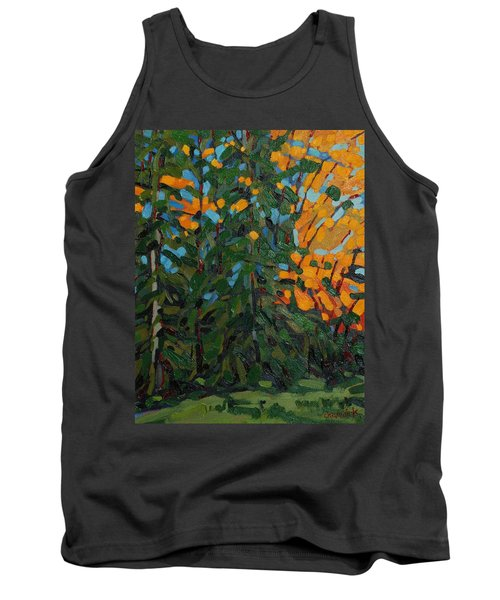 Mcmichael Forest Wall Tank Top by Phil Chadwick