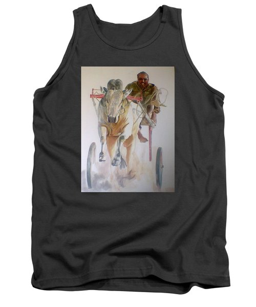 Me And My Partener Tank Top by Khalid Saeed