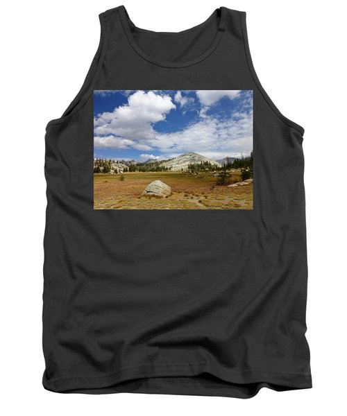 John Muir Trail High Sierra Camp Meadow Tank Top by Amelia Racca