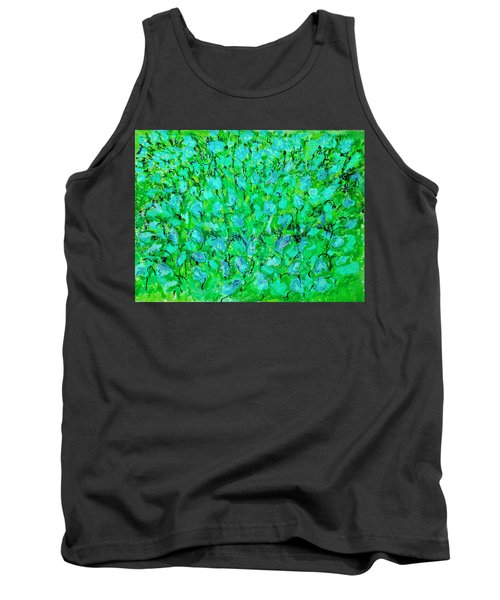 Meadow Flowers Tank Top by Linde Townsend