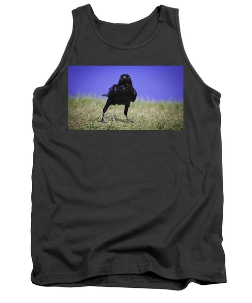 Menacing Crow Tank Top