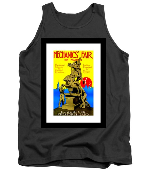 Mechanics Fair San Francisco 1913 II Wesley De Lappe Tank Top