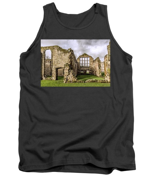 Tank Top featuring the photograph Medieval Ruins by Nick Bywater