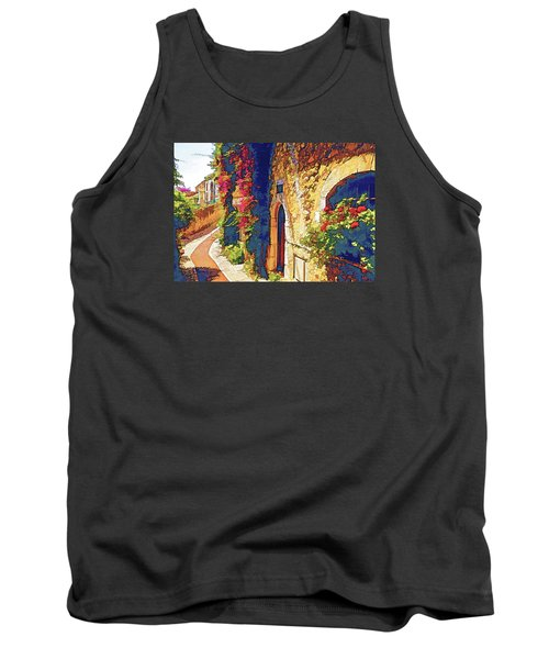 Medieval Saint-paul-de-vence Tank Top