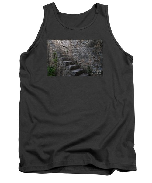 Medieval Wall Staircase Tank Top by Angelo DeVal