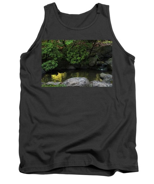 Meditation Pond Tank Top