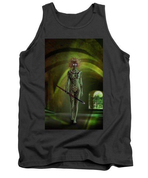 Medusa Tank Top by Scott Meyer