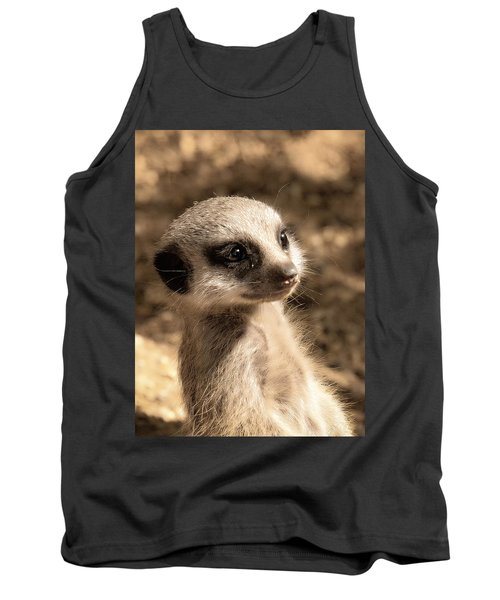 Meerkatportrait Tank Top