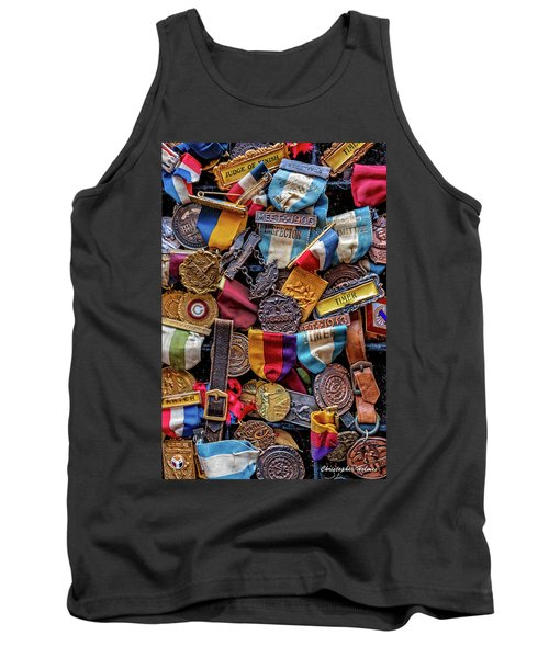 Tank Top featuring the photograph Meet Medals by Christopher Holmes