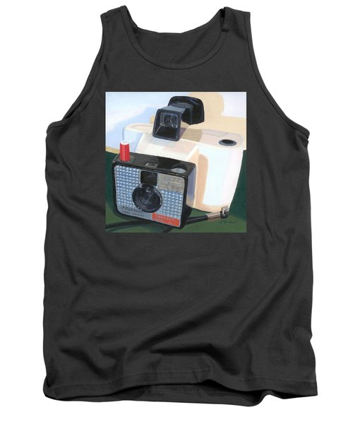 Tank Top featuring the painting Meet The Swinger by Lynne Reichhart