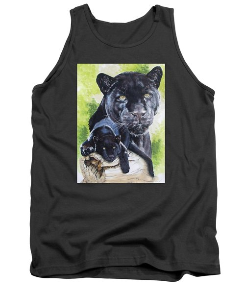 Tank Top featuring the mixed media Melancholy by Barbara Keith