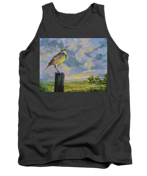Melancholy Song Tank Top by AnnaJo Vahle