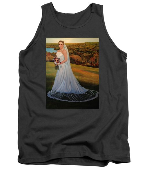 Tank Top featuring the painting Melissa by Alan Lakin