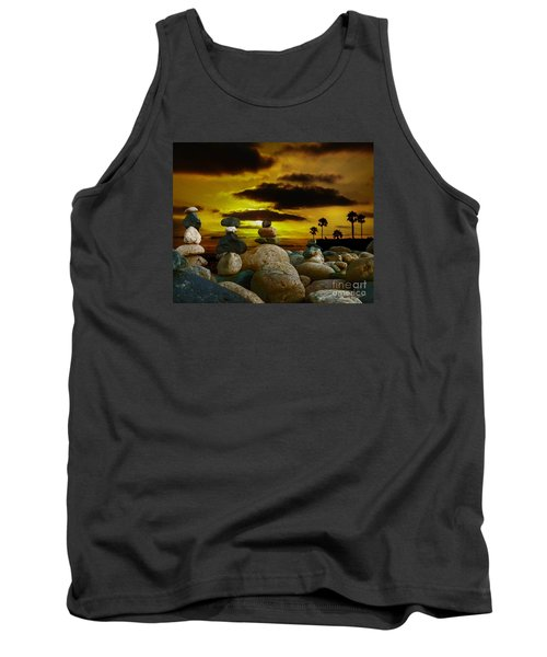 Memories In The Twilight Tank Top by Rhonda Strickland