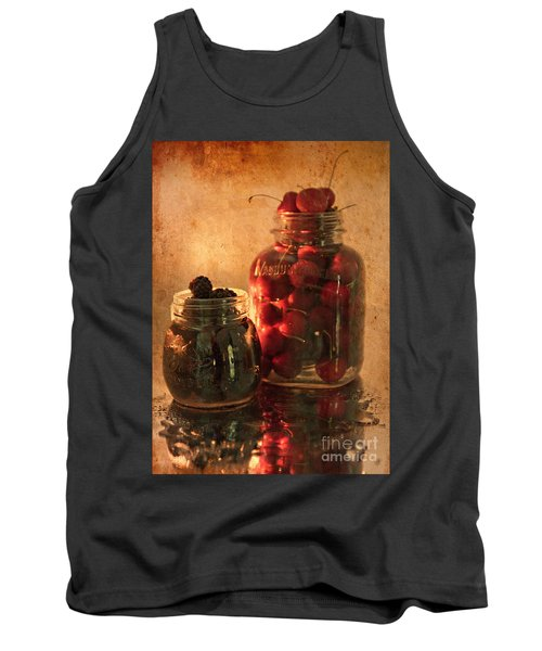 Memories Of Jams, Preserves And Jellies  Tank Top by Sherry Hallemeier
