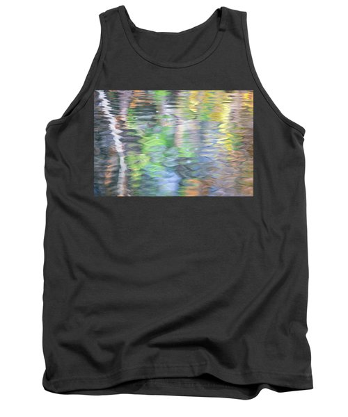 Merced River Reflections 9 Tank Top