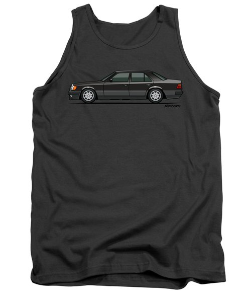 Mercedes Benz 500e W124 Blue-black Metallic Tank Top