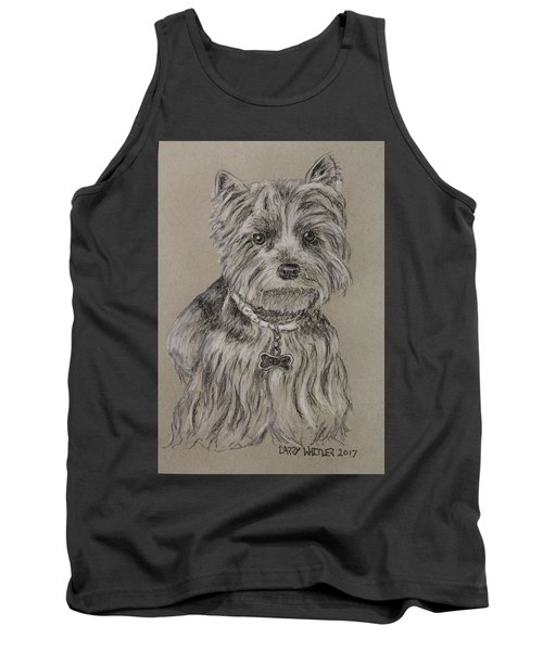 Mercedes The Shih Tzu Tank Top