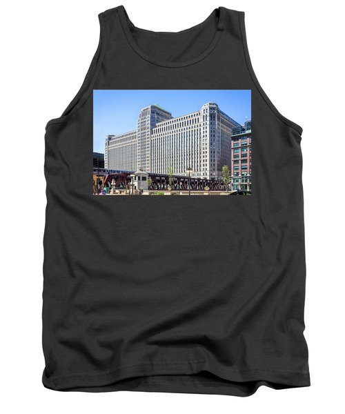 Merchandise Mart Overlooking The L Tank Top