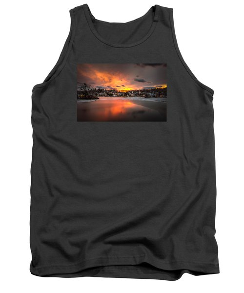 Meredith Sunset Tank Top by Robert Clifford