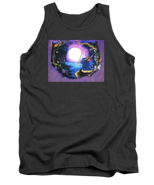 Merlin's Moon Tank Top by Seth Weaver