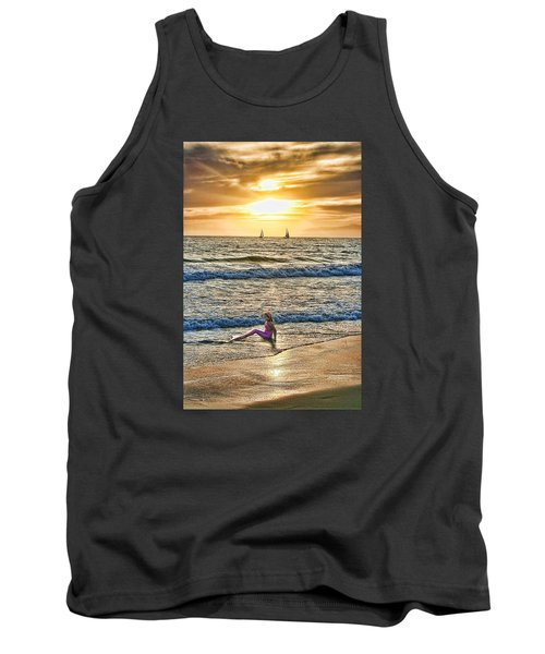 Tank Top featuring the photograph Mermaid Of Venice by Michael Cleere