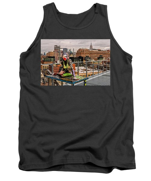 Mermaid On The Whitney Tank Top