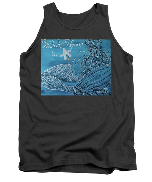 Mermaid- Wish Upon A Starfish Tank Top