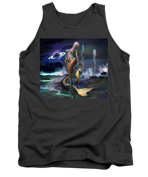 Mermaids Moon Light Tank Top