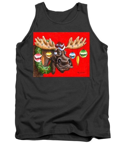 Merry Chris Moose Tank Top