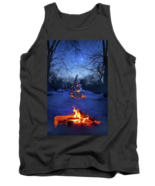 Tank Top featuring the photograph Merry Christmas by Phil Koch