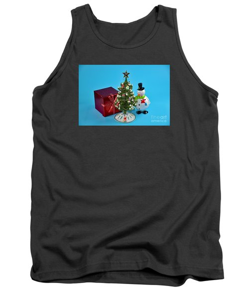 Merry Christmas To You Tank Top by Ray Shrewsberry