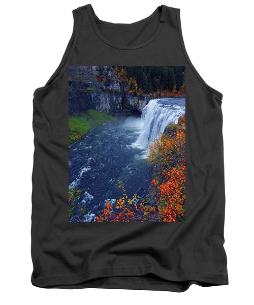 Mesa Falls In The Fall Tank Top