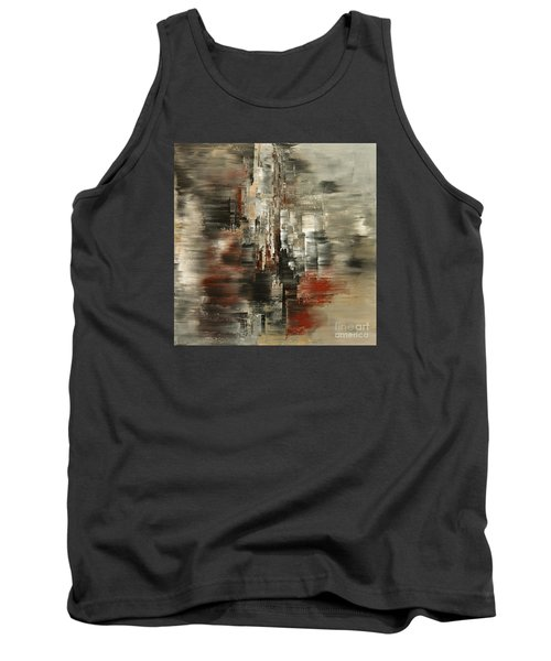 Tank Top featuring the painting Metals And Magnetism by Tatiana Iliina