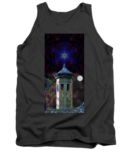 Metatron Nocturnal Tank Top by Iowan Stone-Flowers