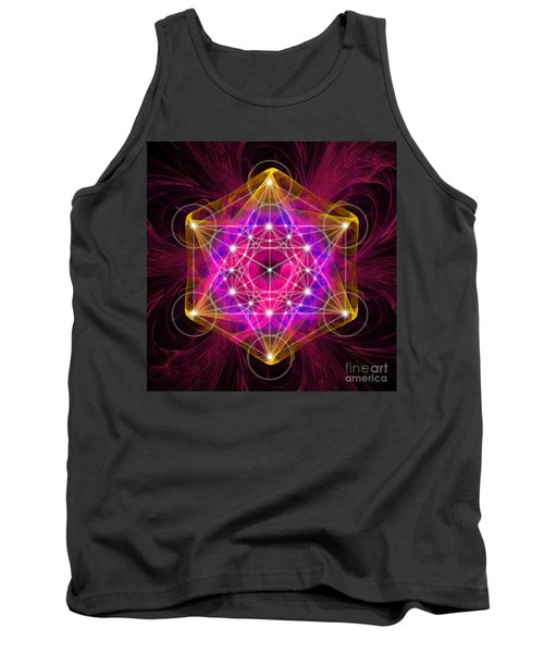 Metatron's Cube With Flower Of Life Tank Top
