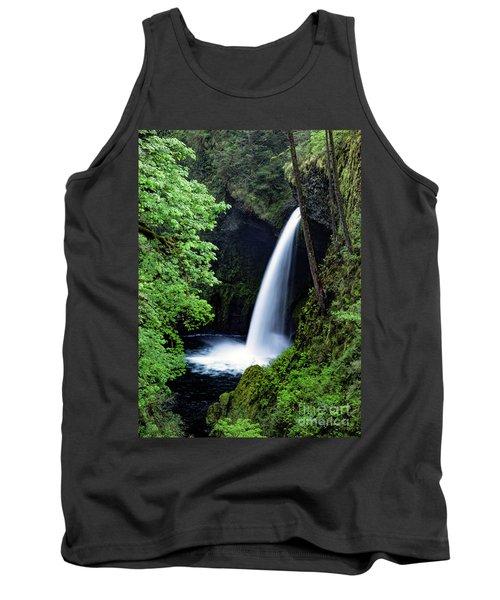 Metlako Falls Waterfall Art By Kaylyn Franks Tank Top
