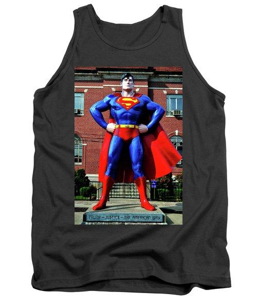 Metropolis - Home Of Superman 001 Tank Top