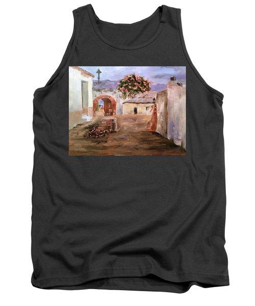 Mexican Street Scene Tank Top