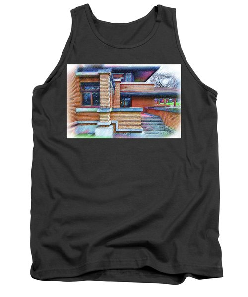 Meyer May House Sketched Tank Top