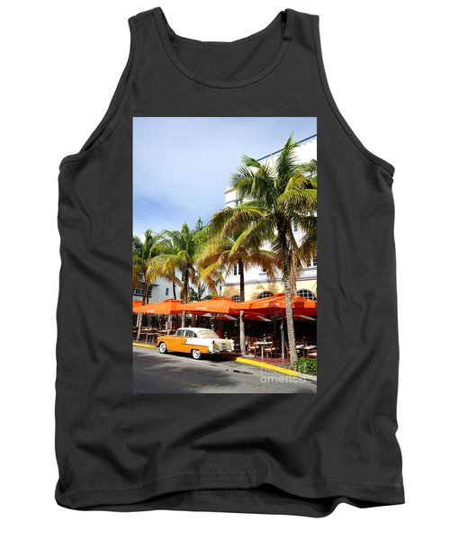 Miami South Beach Ocean Drive 8 Tank Top by Nina Prommer