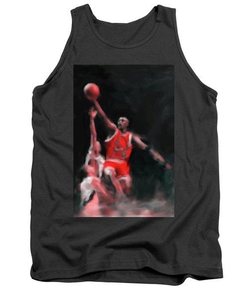 Michael Jordan 548 3 Tank Top by Mawra Tahreem
