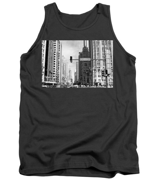 Michigan Ave - Chicago Tank Top