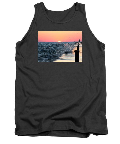 Michigan Summer Sunset Tank Top by Bruce Patrick Smith