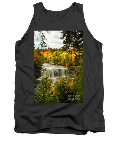 Michigan Waterfall Tank Top by Marilyn Carlyle Greiner