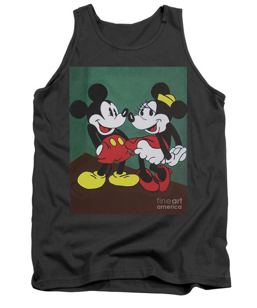 Mickey And Minnie Tank Top