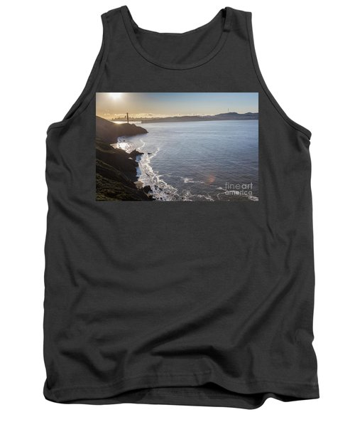 Mid Morning View Of The Downtown San Franscisco Over The Golden  Tank Top