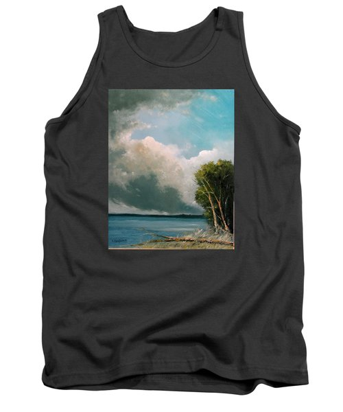 Midday Clouds Tank Top