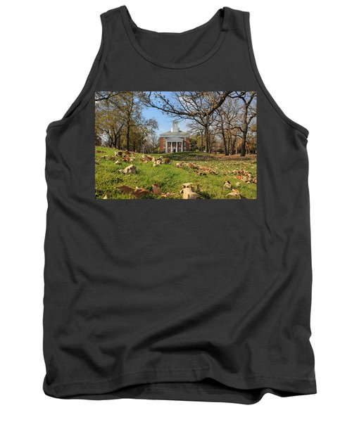 Middle College On An Autumn Day Tank Top
