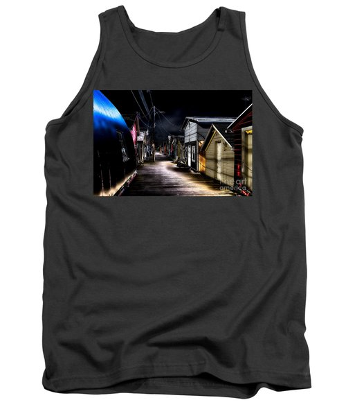 Midnight At The Boathouse Tank Top